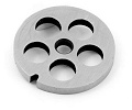 Siets gaļas masīnai Perforated disk Nr. 8 / Ø 16mm CUTTING PLATE FOR MEAT GRINDER UNGER E
