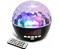 Disko bumba Wireless Disco Ball Speaker VK600 2 x 4W USB Bluetooth FM 6 x LED Li-on baterija