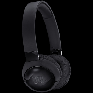 JBL Tune 600 BTNC Black On-Ear Wireless Active Noise Cancelling Headphone