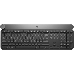 LOGITECH Wireless Keyboard CRAFT with creative input dial - BT - INTNL -
