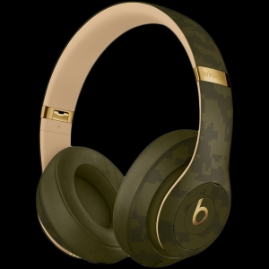 Beats Studio3 Wireless Headphones - Beats Camo Collection - Forest Green, Model