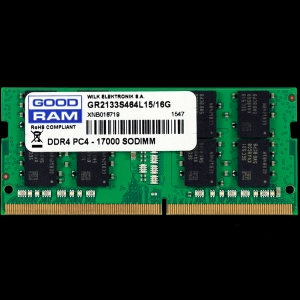 GOODRAM SODIMM DDR4 8GB PC4-19200 (2400MHz) CL17 1024x8