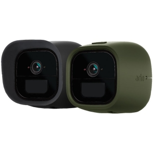 Set of 2 Skins in Black and Green for Arlo Go (VMA4260)