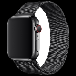 44mm Space Black Milanese Loop, Model