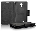 Fancy Diary Mercury Case - MICR LUMIA 535 black