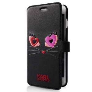 Original faceplate case KARL LAGERFELD KLFLBKP7CL2BK iPhone 7 black