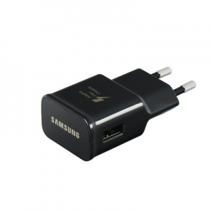 Original Wall Charger Samsung ETA0U81EBE (head only) 1A black bulk