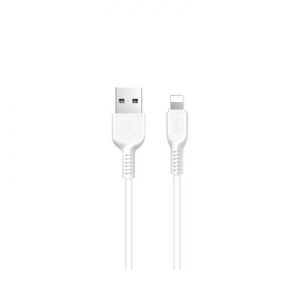 X13 Easy charged lightning charging cable white 1 meter