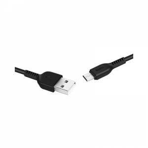 X13 Easy charged Micro charging cable black 1 meter