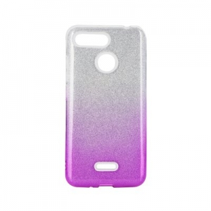 Forcell SHINING Case for XIAOMI Redmi NOTE 8 PRO clear/pink