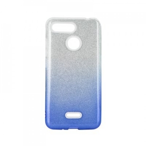 Forcell SHINING Case for XIAOMI Redmi NOTE 8 PRO clear/blue