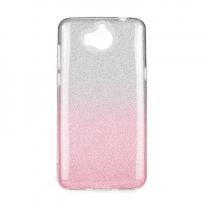 Forcell SHINING Case HUA Y7 Prime 2018 clear/pink