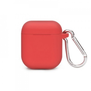 SILICONE HOLDER Airpods case BOX red