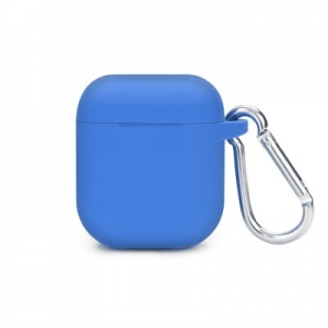 SILICONE HOLDER Airpods case BOX blue