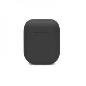 SILICONE case for AirPods BOX black