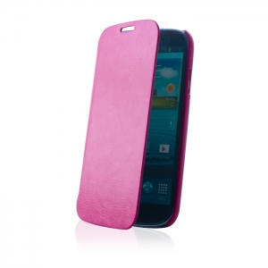 Case Smart Smooth for Son Xperia J pink