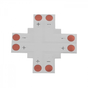 LED strip connector type + PCB10 mm 2 PINS