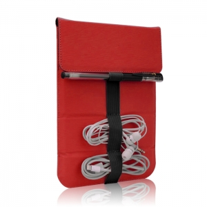 Universal Stack case for tablet 8` red