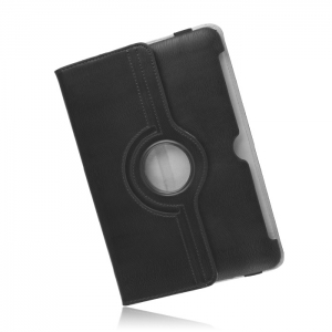 360 rotating PU case for iPad 2/3/4 black
